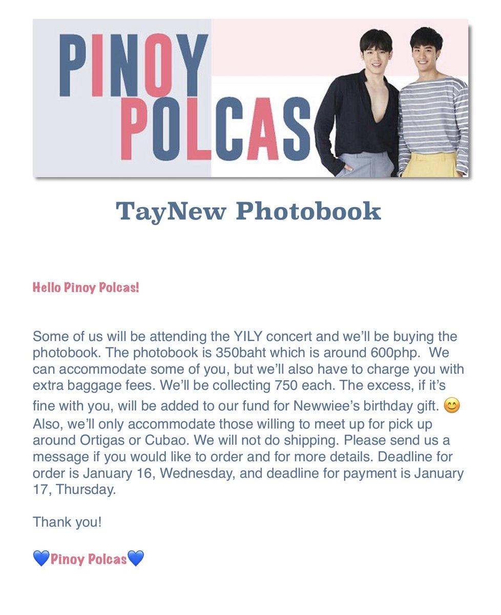TayNew's Photobook Preorder  <br>http://pic.twitter.com/qsDhqcHlvZ