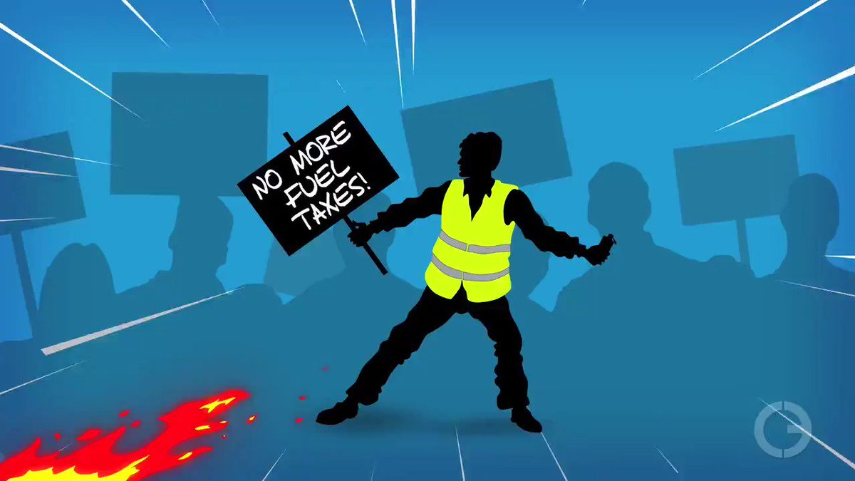 The #YellowVests are continuing to protest in #France and the contagion is spreading to other parts of the world. Demonstrators are protesting a #CarbonTax, #illegalimmigration, and wasteful #government spending. Click here to see CEA's latest video 👉🏼 https://www.youtube.com/watch?v=Rka-PG41Pf4…