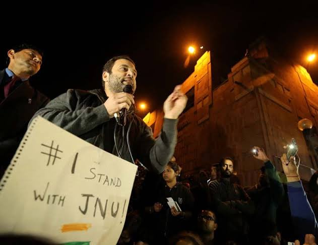 Dear @RahulGandhi It's not you who stood for JNU. It's @ABVPVoice that has stood not only for the JNU but for India itself. #ChargesheetonRahulTeam Photo