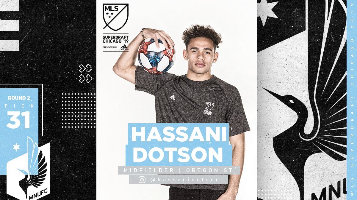 Congrats to former Crossfire Academy player Hassani Dotson on his selection in the MLS SuperDraft! <br>http://pic.twitter.com/UPb7Wo5TZ7