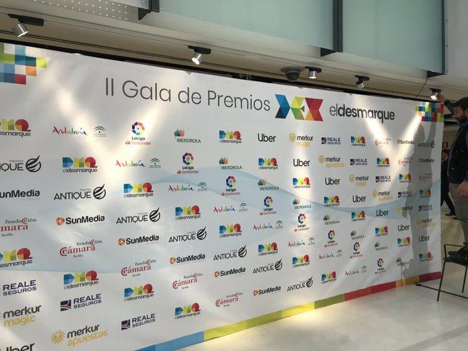 Estamos ya en el @CartujaCenter, donde en menos de un par de horitas arranca la Gala de los #PremiosDEX 2018 de @eldesmarque. Nos espera una noche fantástica. Foto