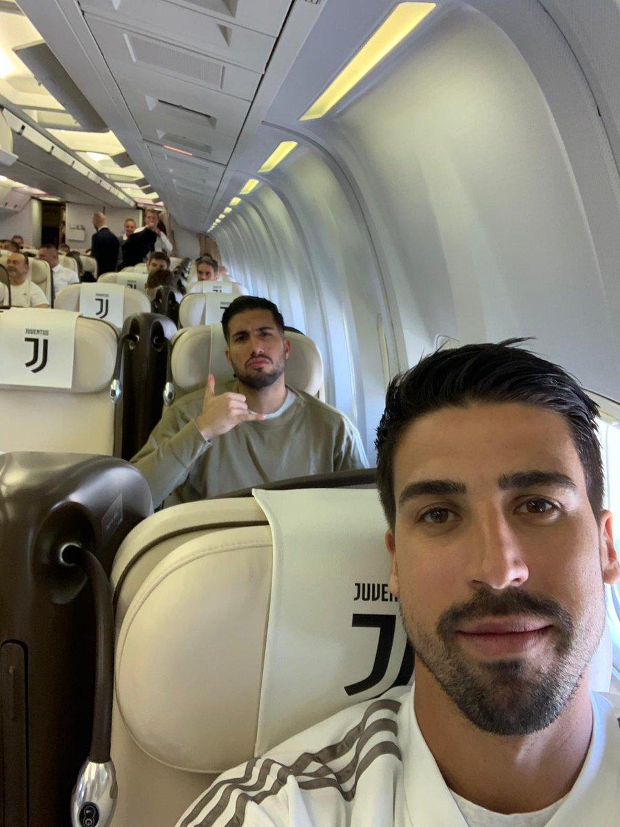 Just arrived in Saudi Arabia for #SupercoppaItaliana 🛬🏆🇮🇹 #JuveMilan #SK6 @juventusfc @emrecan_