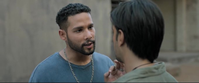 According to IMDb site Siddhant Chaturverdi's name in gullyboy is SHER💥 1 MONTH FOR GULLY BOY Photo