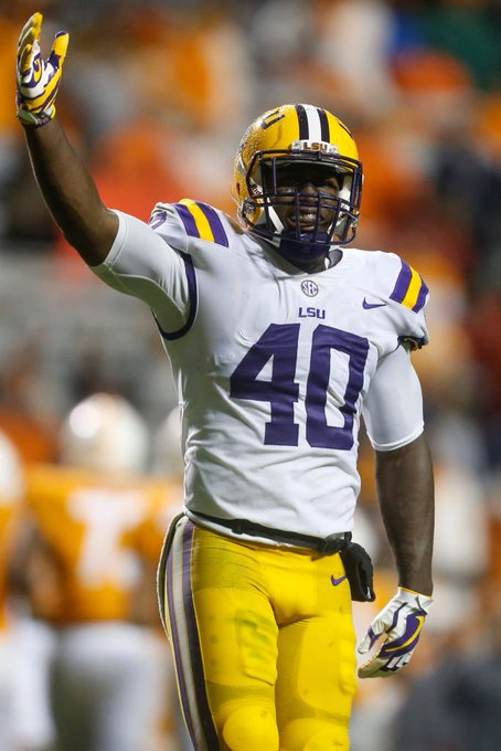 LSU LB Devin White declares for the NFL Draft Potential first LB off the board Photo