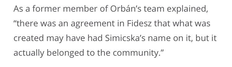 For 25 years, Lajos Simicska was the moneyman behind Viktor #Orban. Then the two fell out spectacularly — &  /  @direkt36has@444hu a fascinating piece on how it happened. For me, this was the quote that revealed the most about Orban's Hungary https://t.co/88vTwCSqdU