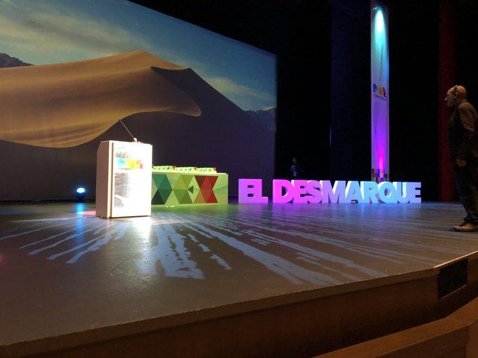 🤗📸 ¡Todo preparado en @CartujaCenter para la gala de los #PremiosDEX 2018! Así luce el auditorio a menos de dos horas para el comienzo 😍 Foto
