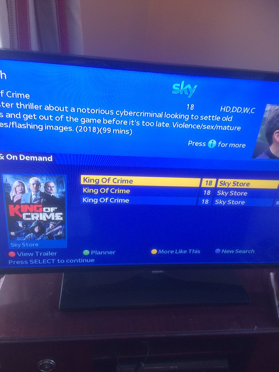 The mothership sent me this photo. A movie in which I act is now available on Sky @CrimeMovie 🤗😝 #acting #film #britishfilm #skyfilm #movie #indiefilm #actress #casting #thriller #KingofCrime https://t.co/0Y0bHQiOCr