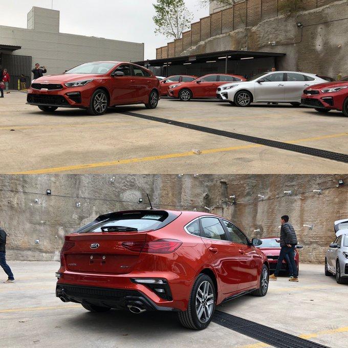 Nos vamos de ruta con @KiaMotorsMexico a conocer el nuevo #KIAForte GT. Más adelante te contamos nuestras impresiones. Foto