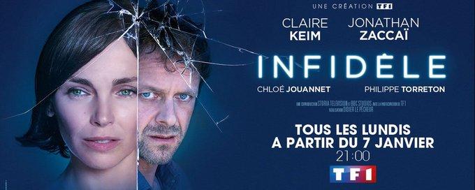 #Infidèle Ce soir sur @TF1 @claire_keim Une de nos séries télé #coupdecoeur Photo
