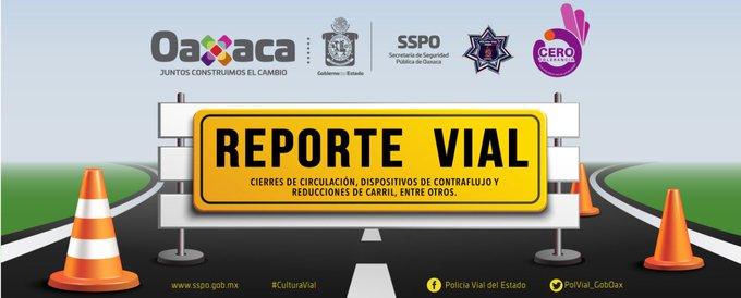 Por bloqueo vial en el crucero de cinco señores encontrará corte de circulación sobre Eduardo Mata, vialidad por la calle de González Ortega #Oaxaca Foto