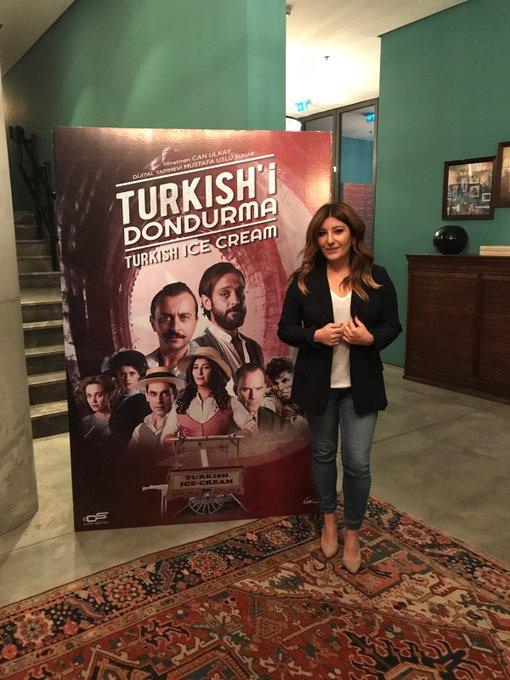 Turkish'i Dondurma 15 Mart'ta vizyonda🎬 @sebnembozoklu #SebnemBozoklu @dijitalsanatlar #TurkishiDondurma Fotoğraf