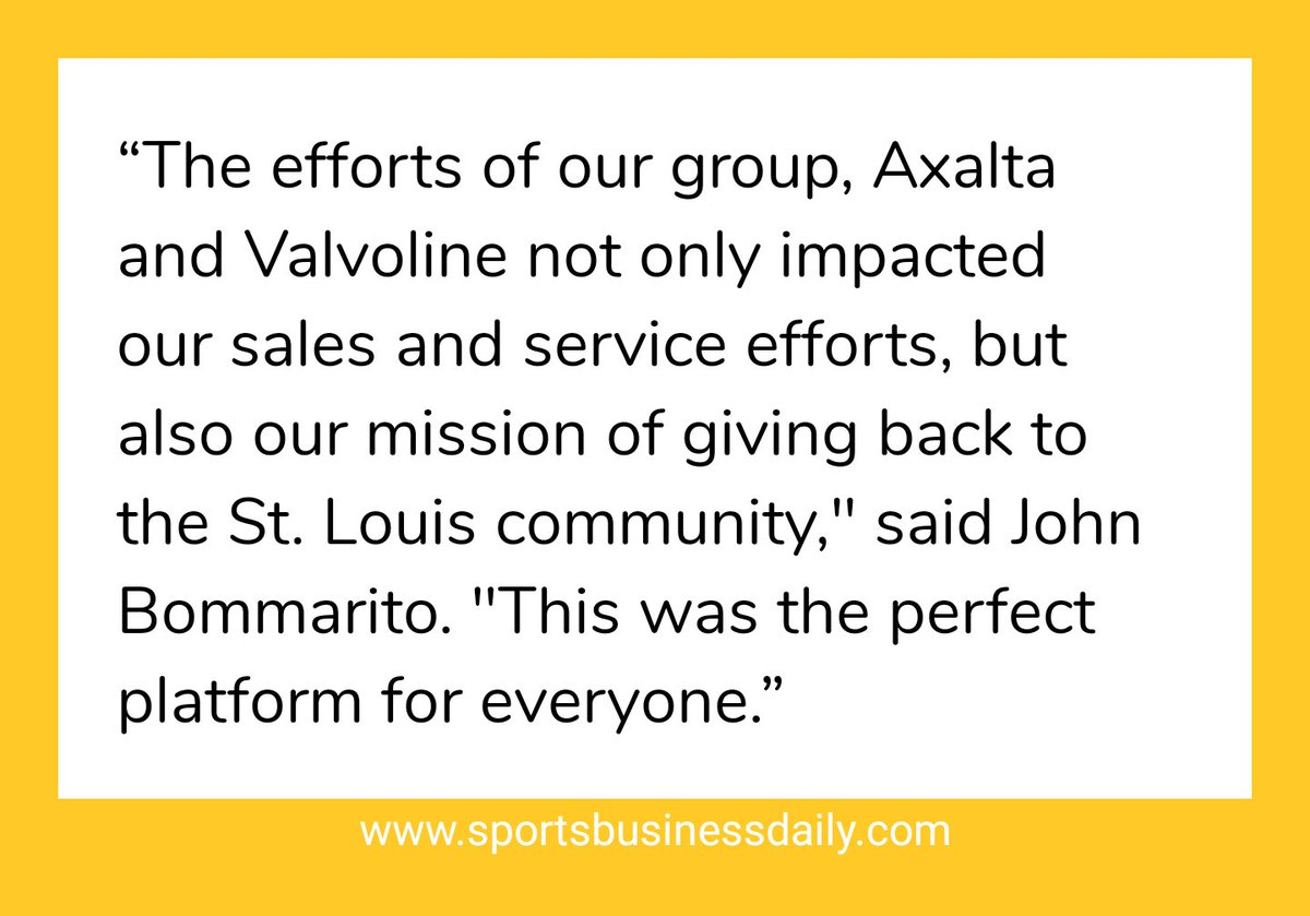 ⚡@BommaritoAuto Group has signed a three-year extension with @GatewayMSP to serve as title sponsor of the track's annual IndyCar Series race.  ➖ Original deal was for '17 and '18, and it's now renewed for '19-'21.  ➖ Deal includes presenting rights for @Axalta and @Valvoline. https://t.co/kWmqEvt32e
