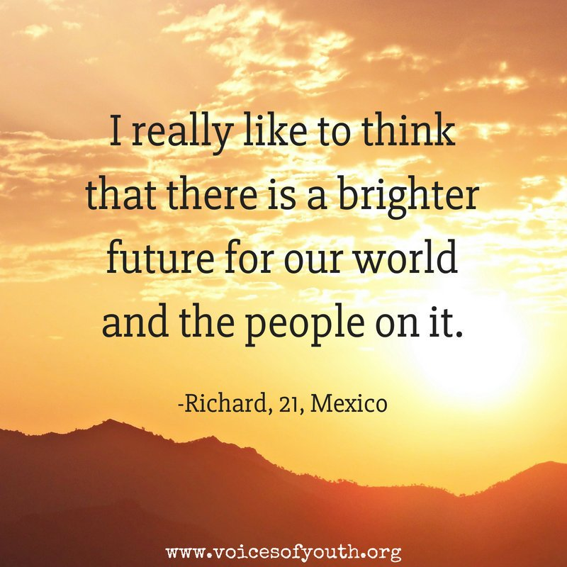 Believe. #MondayMotivation from @voicesofyouth - our channel by youth, for youth. uni.cf/2lWg1bT