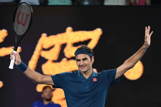 El próximo rival de Roger Federer en la segunda ronda del Australian Open será el británico Daniel Evans. Nos vemos el miércoles Majestad!!! Photo