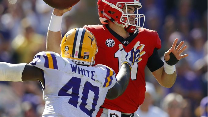 NFL Draft 2019: Devin White declares with tribute to LSU Photo