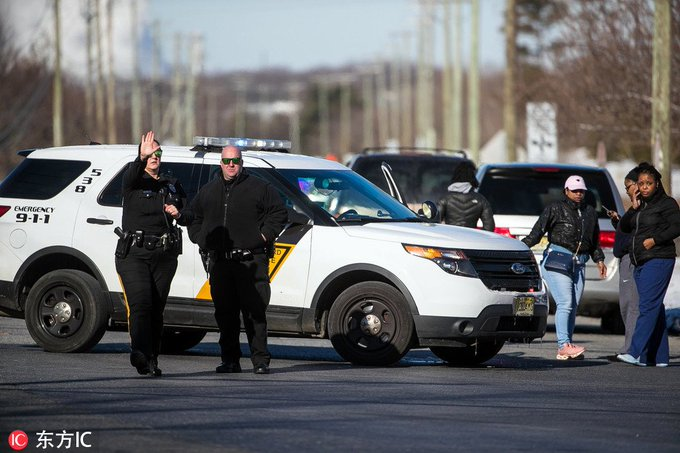 Police responded Monday to an active #shooting at a United Parcel Service (UPS) facility in the US eastern state of New Jersey, the company said in a statement. Photo