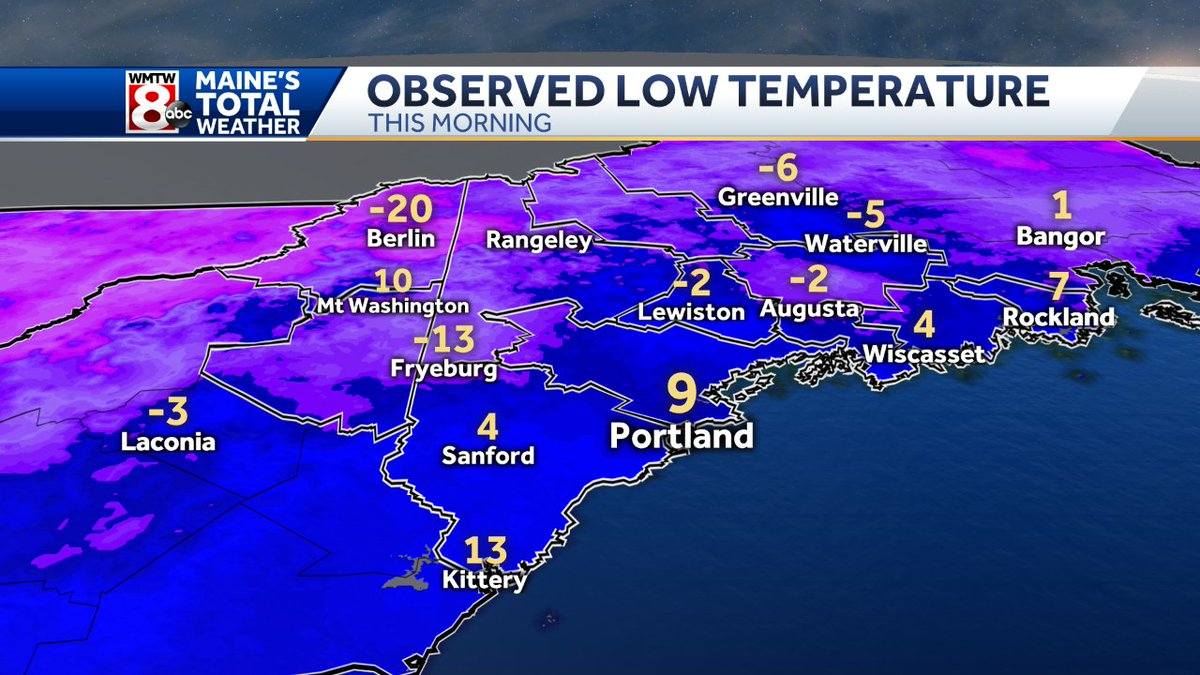 Florida To Maine Map.Ted Mcinerney On Twitter A Cold Morning Here In Maine Our Sister