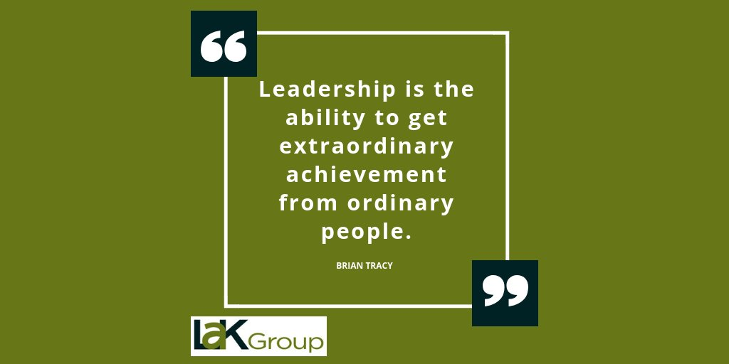 Leadership is the ability to get extraordinary achievement from ordinary people. - Brian Tracy #MotivationalMonday #leadership<br>http://pic.twitter.com/PIUiUIKC7U