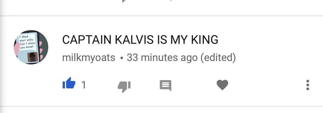 @captainkalvis it's what you deserve