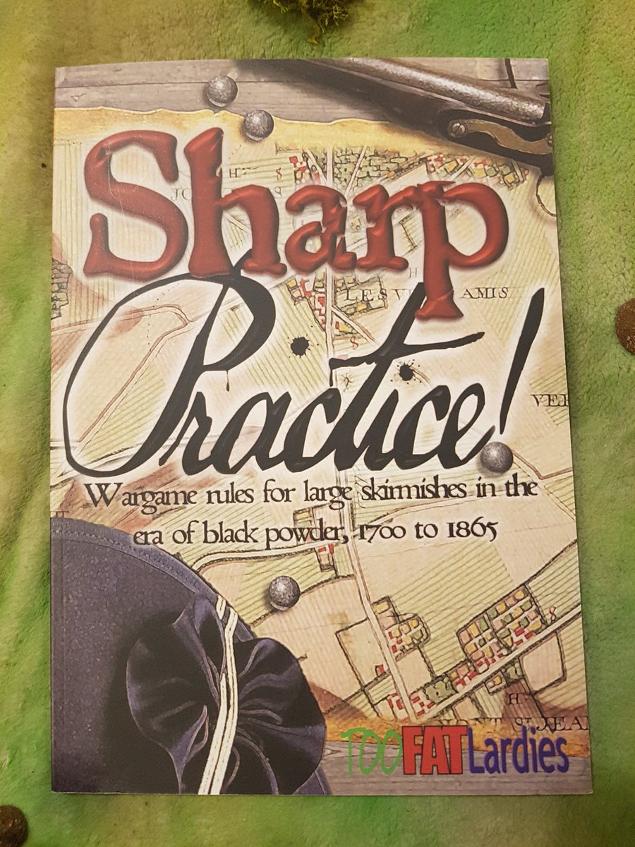The rules are the fantastic #Sharppractice 2 or #SP2 by @TooFatLardies and @Dozibugger -  For me, they are the perfect balance of fun, period flavour &amp; historical plausibility. The focus on command decisions and leadership drives a strong &amp; characterful narrative. #SpreadtheLard<br>http://pic.twitter.com/BTpdKLhAkg