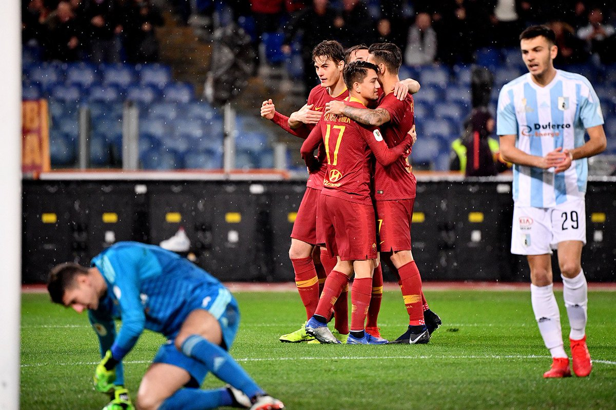 AS Roma NOTICIAS's photo on #CoppaItalia