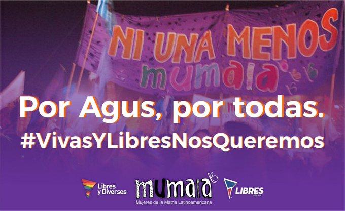 #FueFemicidio   Con Agustina ya son 8 los femicidios en lo que va del 2019. PAREN DE MATARNOS #VivasNosQueremos Photo