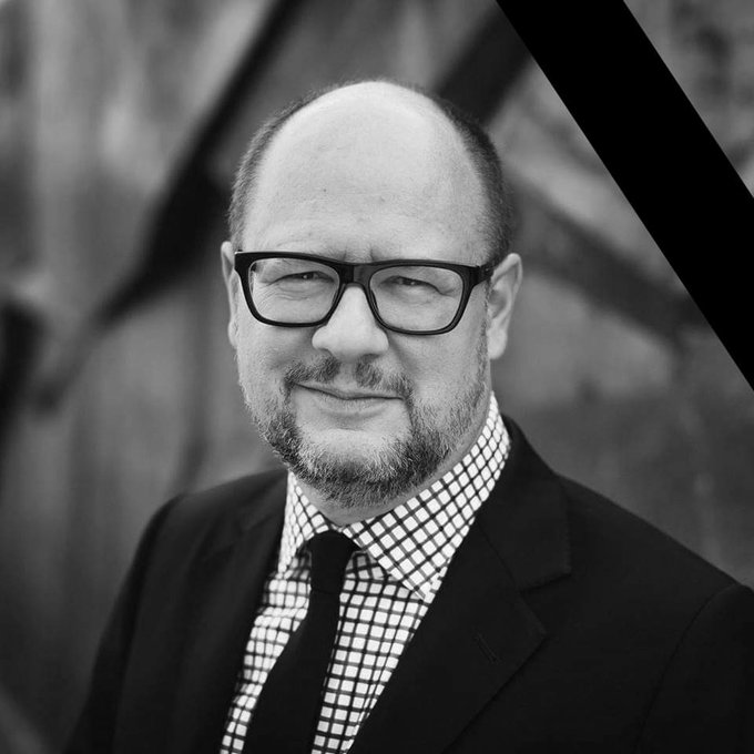 RIP Paweł Adamowicz, freedom fighter. Photo