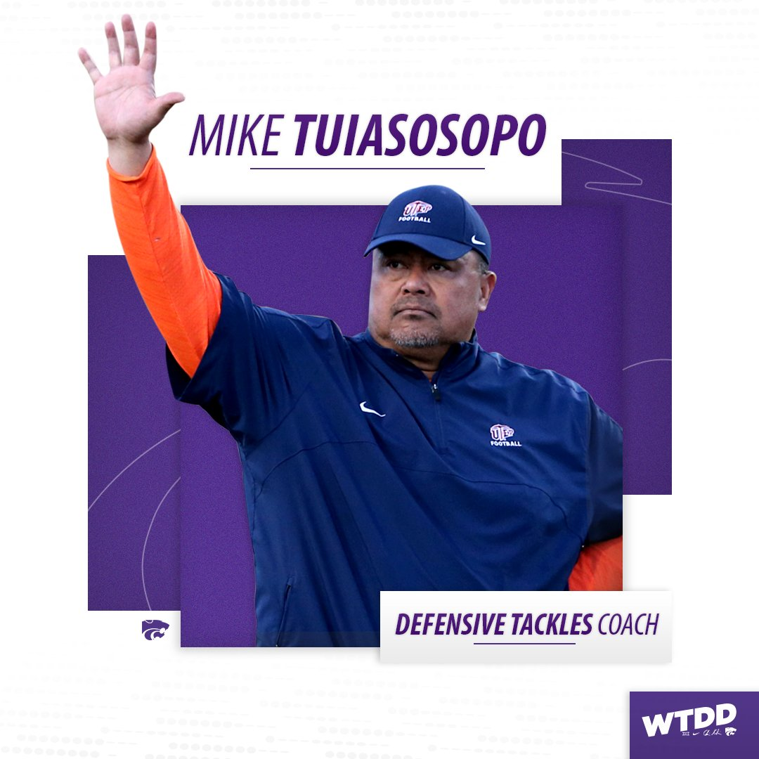 Welcome Coach Mike Tuiasosopo, the new #KStateFB defensive tackles coach  📝 https://t.co/30Uuxrm2tQ  #EMAW https://t.co/ABLugtHxGz