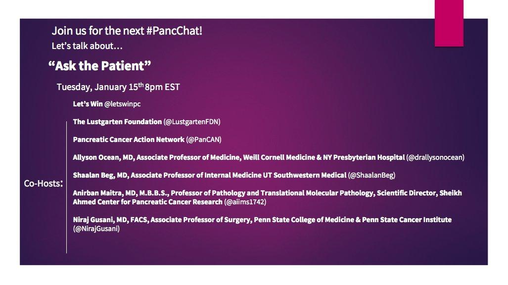 Media Tweets by Let's Win Pancreatic Cancer (@letswinpc