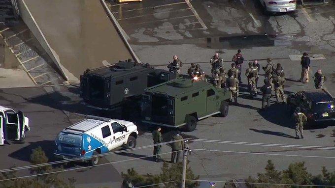 Gunman who took 2 hostage at @UPS shot; hostages safe Photo