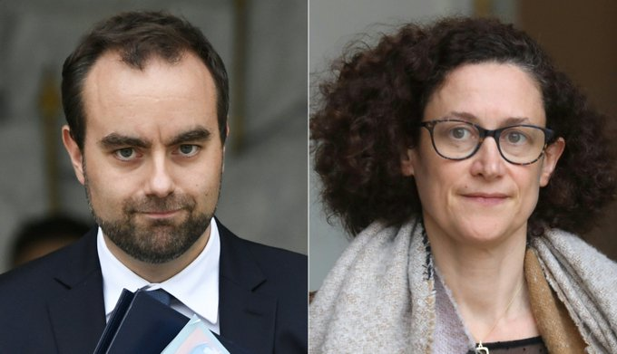 Sébastien Lecornu et Emmanuelle Wargon, deux profils très technocratiques pour chapeauter le débat national >> Photo