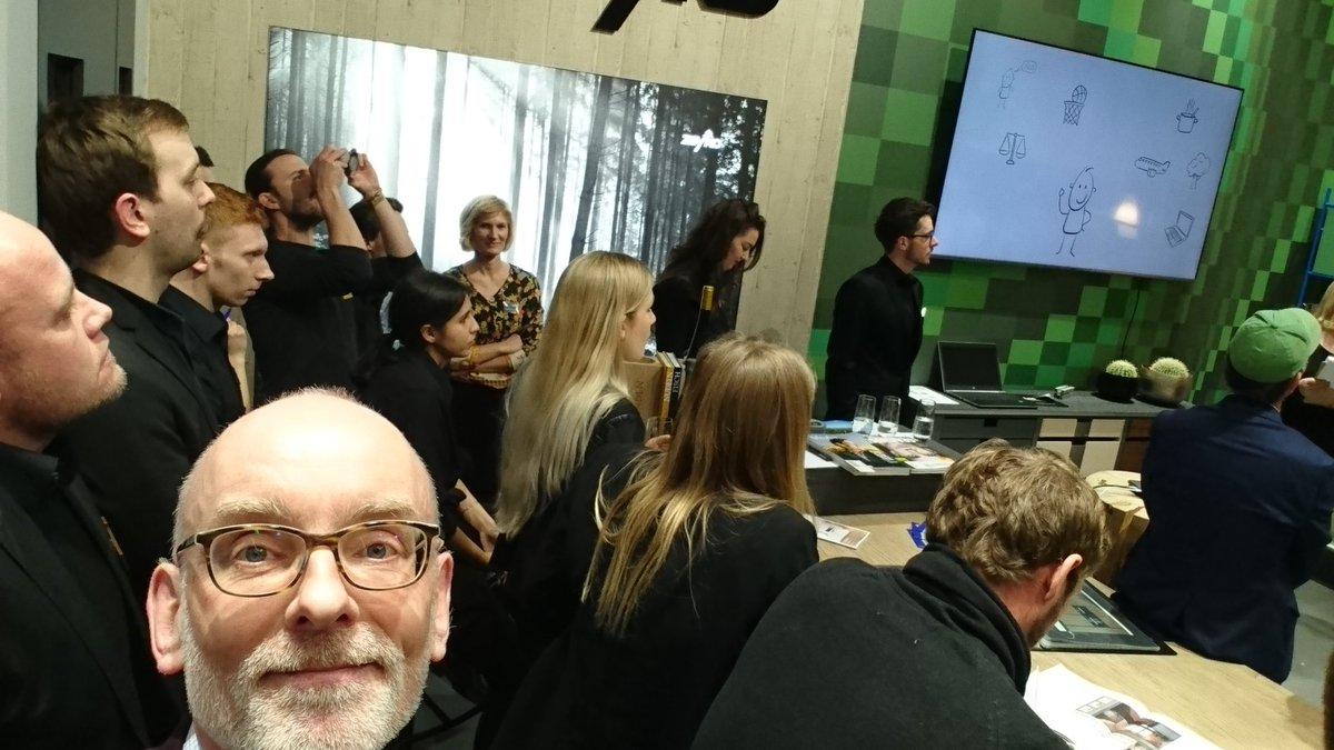 test Twitter Media - Heute große Präsentation auf der Internationalen Möbelmesse in Köln  auf dem Stand von Zeyko von meinen Prodes Studierenden. Very proud 😀 https://t.co/wB4acZWKqI