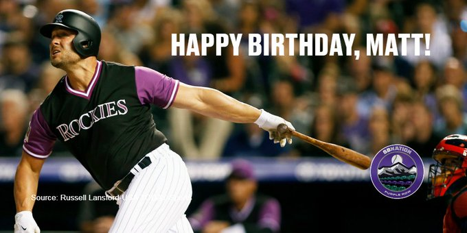 Happy 39th birthday to OF Matt Holliday!