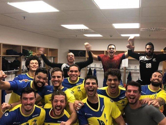 #Esportes: Seleção masculina supera a Sérvia e vence a primeira no Mundial de Handebol Foto