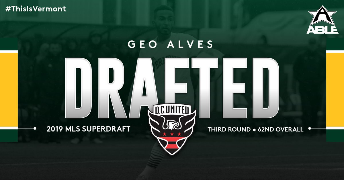 Congrats to #VCats F Geo Alves! The senior was taken by @dcunited in the #SuperDraft today. #ThisIsVermont<br>http://pic.twitter.com/HoQouewhfX