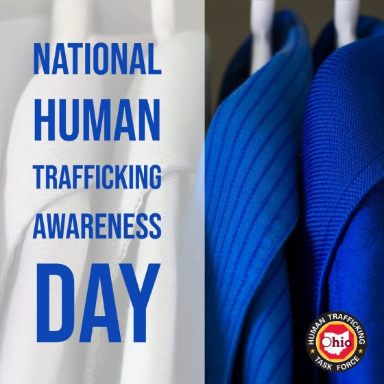 #WearBlueDay in the fight against human trafficking http://dlvr.it/Qwg4jZ