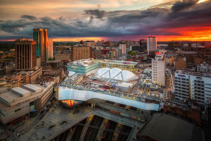 Turns out that Birmingham and I share a birthday. Here's to all the dreamers, the do-ers, those with aspirations above their station who have found love, luck, happiness & success in this fine city! #Brum130 #Birmingham Photo
