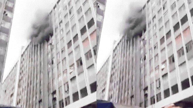 #URGENTE | Cercado de Lima: Se registra incendio en av. Abancay ►https://t.co/ovmlIBGxEA