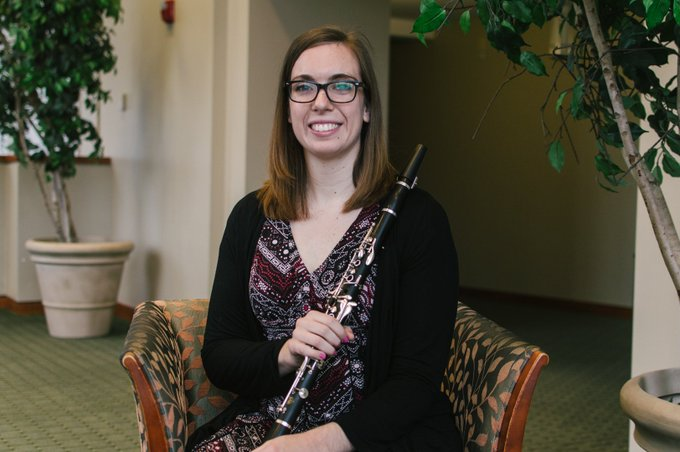 Happy #MusicMonday Cardinals! Today's featured human of the #BallState School of Music is DA clarinet performance student Elizabeth Felsted! Check out the full post here: Photo