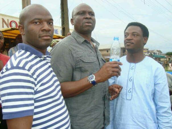 Since I can't find #10YearChallange, Let me do #5YearChallenge. With @GovAyoFayose and @Ty_oret. Photo