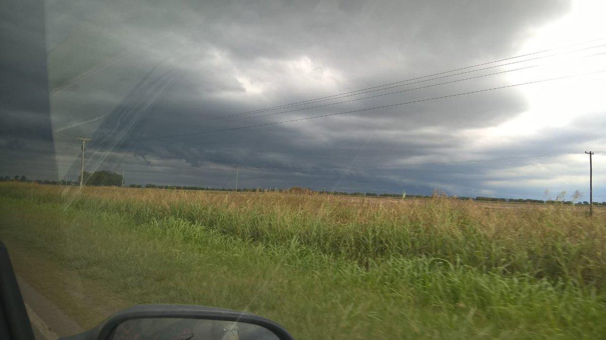 #Clima | #AlertaMeteorológico por probables tormentas fuertes afecta a nuestra provincia