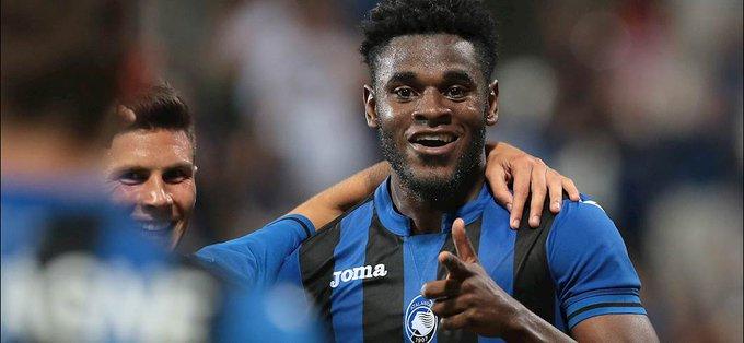 Le ultime 7 partite di Duvan #Zapata Napoli: ⚽ Udinese: ⚽⚽⚽ Lazio: ⚽ Genoa: ⚽ Juventus: ⚽⚽ Sassuolo: ⚽ Cagliari: ⚽ #CagliariAtalanta Foto
