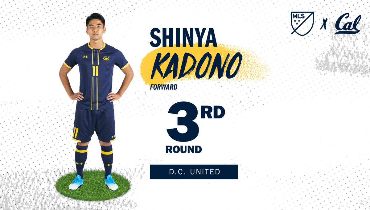 Congrats to our goal-scoring machine @skadono97 for being selected by @dcunited in the third round of today&#39;s @MLS SuperDraft! #CalMSoc #CalFamily<br>http://pic.twitter.com/1px2qprwMQ