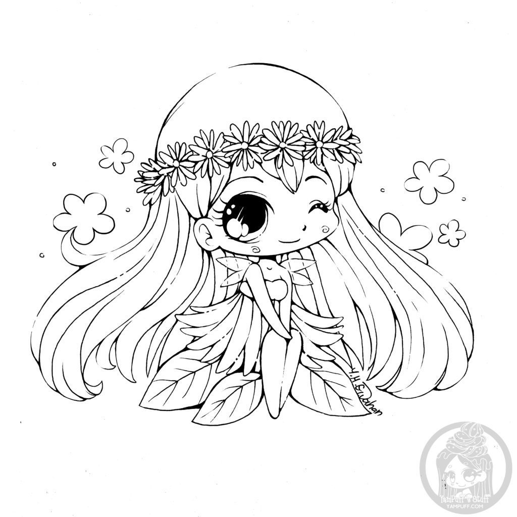 """artherapie.ca on Twitter: """"#Chibi kawaii coloring pages ..."""
