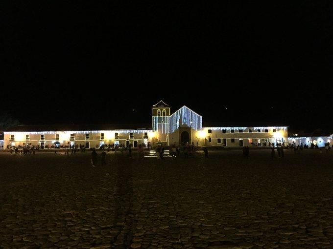 #spamdepuebloscolombianos Villa de Leyva, Tibasosa y Corrales. Boyacá y sus hermosos alumbrados en diciembre. Photo