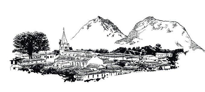 Y desde participamos en el #spamdepuebloscolombianos con este dibujo de #Valparaiso , Antioquia. Photo