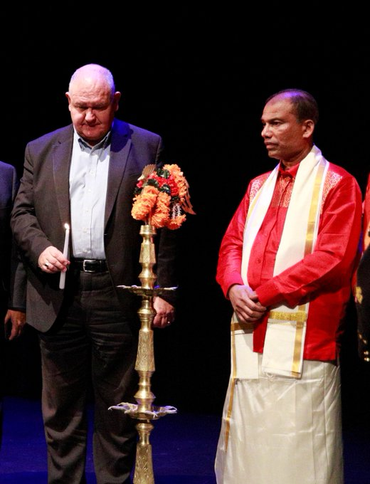 The 8th Annual #ThaiPongal celebration was held Sunday at the @MarkhamTheatre. Proud to continue this great @cityofmarkham tradition in my new MPP role. Photo