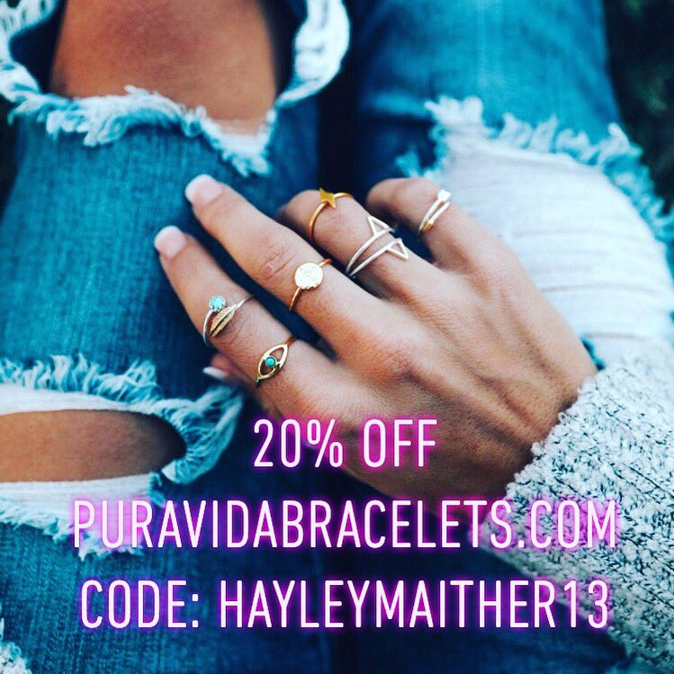 Who needs a cute new ring? Check out @puravidabrac and use the code HAYLEYMAITHER13 for 20% off your ENTIRE order! http://Puravidabracelets.com #puravidabracelets #puravida #bracelets #jewelry #adventure #live #life #shopping #shop #accessories #beach #sun #sand #surf #style #fashion