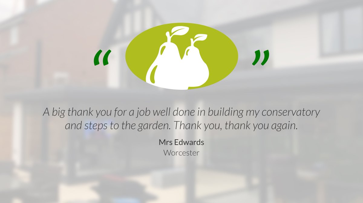 90% of our work coming from recommendations from existing customers and it's the feedback we get from our customers which we pride ourselves on the most.  #WorcestershireHour