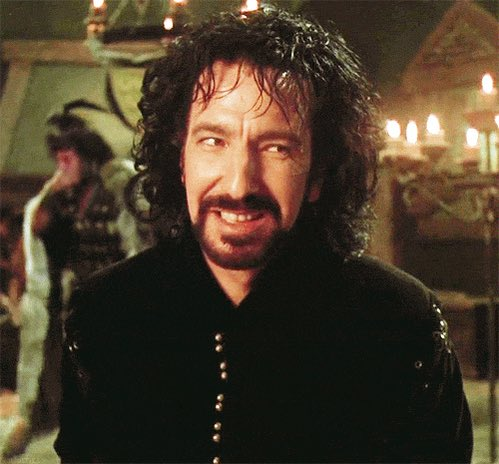 Three years today we lost Alan Rickman. My best tribute is the excellent drinking game we created for Prince of Thieves - rules include drinking every time every time Costner sounds American, and every time Marion is annoying. #RIP #AlanRickman Photo
